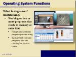 operating system functions11