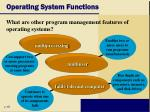 operating system functions12