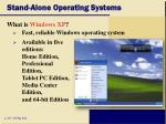 stand alone operating systems31