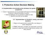 3 protective action decision making