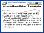 aspectos metodol gicos y conceptuales