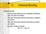 c chemical bonding1