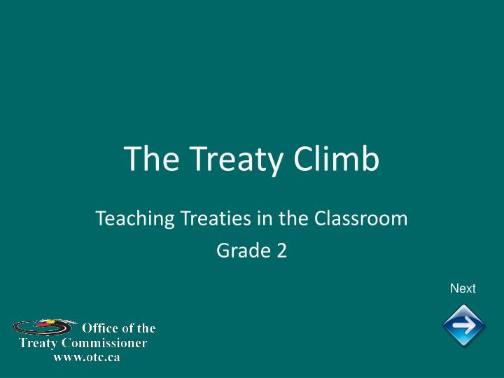 the treaty climb n.