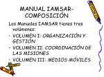 manual iamsar composici n