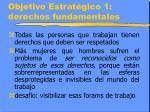 objetivo estrat gico 1 derechos fundamentales