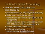 option expense accounting2