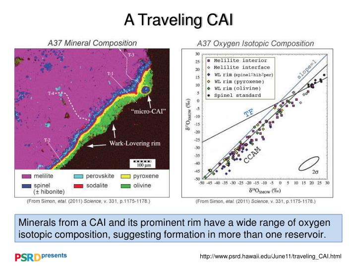 a traveling cai n.