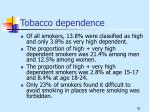 tobacco dependence1