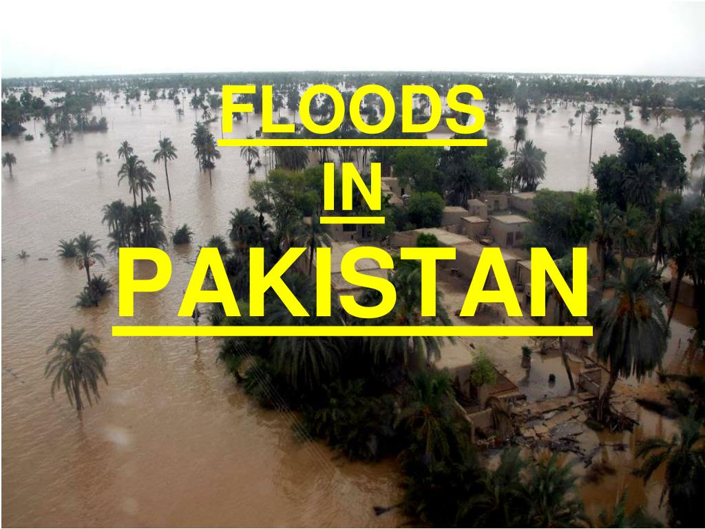 floods in pakistan l.