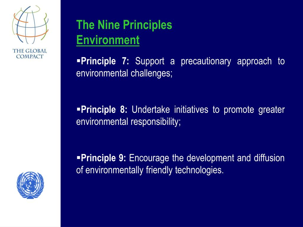 The Nine Principles