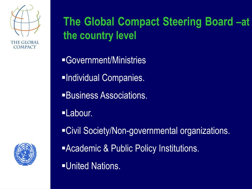 The Global Compact Steering Board