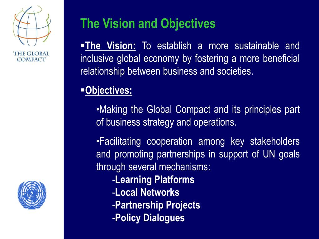 The Vision and Objectives