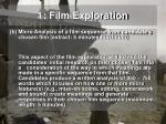 1 film exploration1