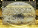 2 pitch