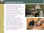 l episodio di my lai