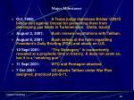major milestones22