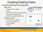 creating drawing views4