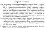 composite hypothesis