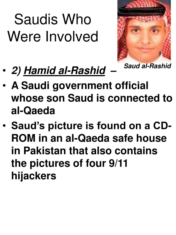 Saudis Who Were Involved