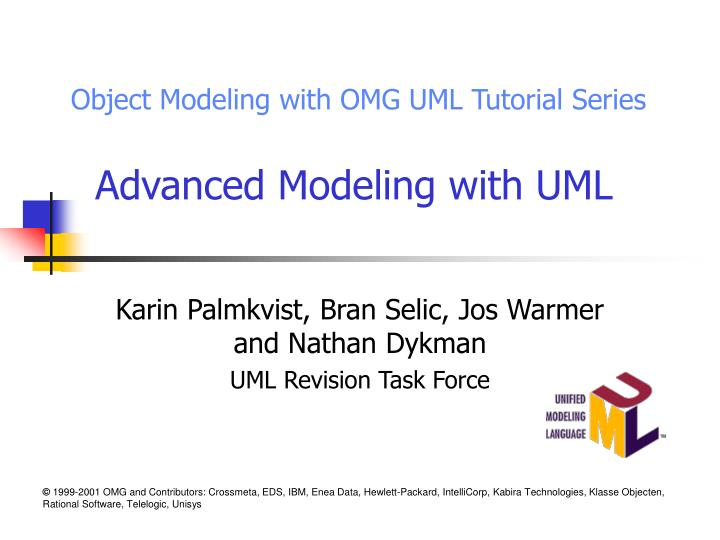 advanced modeling with uml n.