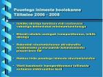 puuetega inimeste hoolekanne t itmine 2006 200812