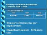puuetega inimeste hoolekanne t itmine 2006 20084