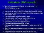 indicadores ans manual