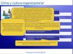 clima y cultura organizacional1