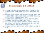 remounting