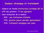 douleur chronique et traitement1