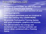 training games com