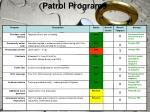 patrol programs