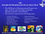 fip board of pharmaceutical practice