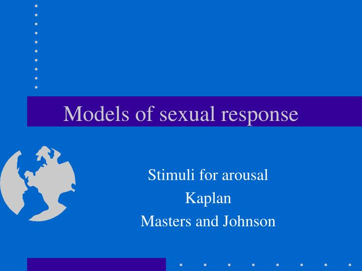 models of sexual response n.