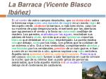 la barraca vicente blasco ib ez