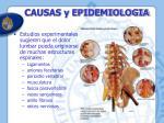 causas y epidemiologia