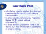 low back pain1