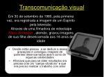transcomunica o visual