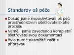 standardy o p e