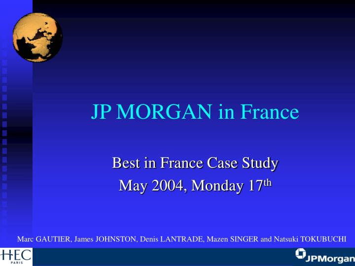 jp morgan in france n.