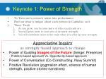 keynote 1 power of strength