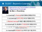 su207 beyond e learning
