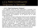 1 2 3 poder constituyente originario y derivado