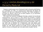 1 3 3 l mites axiol gicos y de derecho natural
