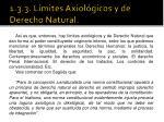 1 3 3 l mites axiol gicos y de derecho natural1