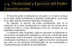 1 4 titularidad y ejercicio del poder constituyente1