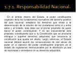 1 7 1 responsabilidad nacional