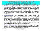 principales reglas de la convenci n de viena de 1980