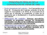 principales reglas de la convenci n de viena de 19801
