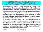 principales reglas de la convenci n de viena de 19802